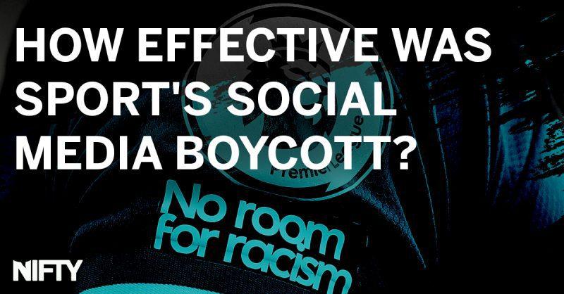 How effective was sport's social media boycott?