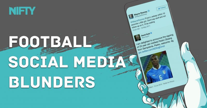 Football Social Media Blunders