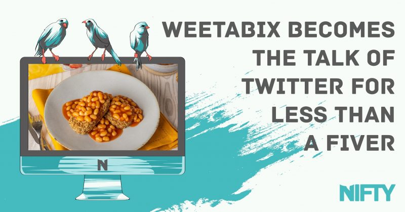 Eyes on the PRize: Weetabix becomes the talk of Twitter for less than a fiver