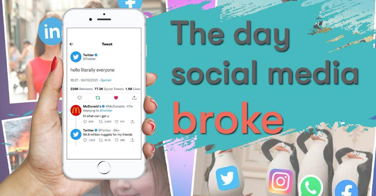 The day social media broke